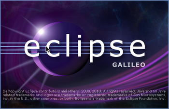 Eclipse起動画面