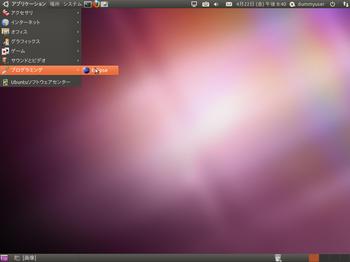Ubuntuの全画面